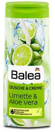 Крем-Гель для душа Balea с ароматом алоэ вера и лимона 300мл, фото 2