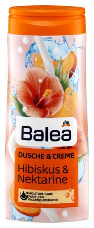 Крем-Гель для душа Balea с ароматом гибискуса и нектарина 300мл