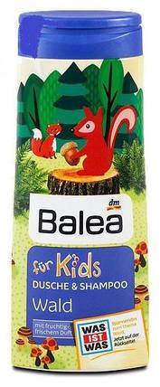 Гель для душа + шампунь Balea Wald без слез 300мл, фото 2