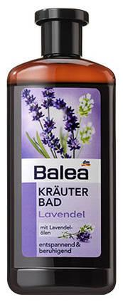 Пена для ванны Balea на травах с маслом лаванды 500мл, фото 2