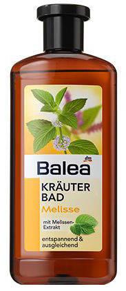 Пена для ванны Balea на травах с маслом мелисы 500мл, фото 2