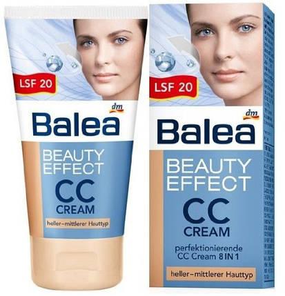 Крем для лица эффект красоты с гиалуроновой кислотой СС бронза Balea 50мл, фото 2