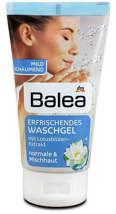 Гель для умывания Balea для нормальной и смешанной кожи 150мл с лотосом, фото 2