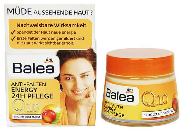 Крем для лица Balea energy Q10 против морщин 50мл, фото 2