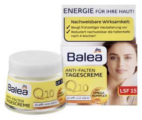 Крем для лица Balea Q10 дневной против морщин LSF 15 50мл