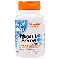 Doctor's Best, Сердечное средство Прайм с КД-Пур ЭПК, 60 мягких желатиновых капсул