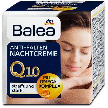 Крем для лица Balea Q10 ночной против морщин 50мл, фото 2