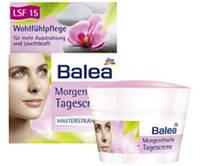 Крем для лица Balea велнесс с защитой от ультрафиолета 50мл