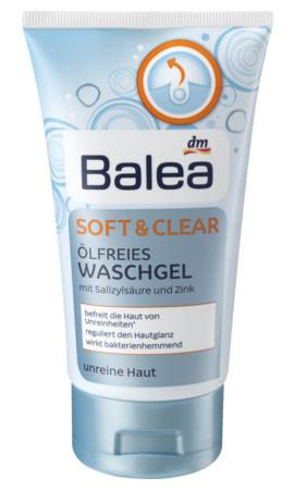 Гель для умывания Balea для жирной кожи 150мл