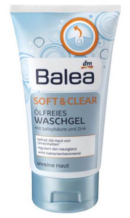 Гель для умывания Balea для жирной кожи 150мл, фото 2
