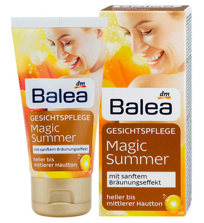 Крем для лица автозагар Balea Magic Summer 50мл