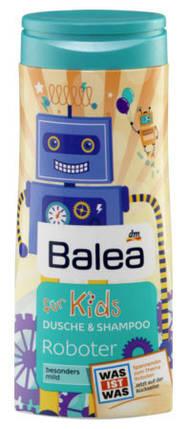 Гель для душа + шампунь Balea Roboter без слез 300мл, фото 2