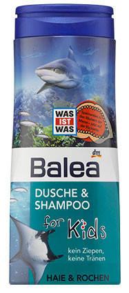 Гель для душа + шампунь Balea Haie & Rochen без слез 300мл, фото 2