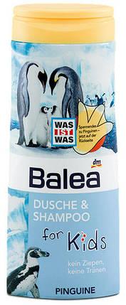 Гель для душа + шампунь Balea Пингвин без слез 300мл, фото 2