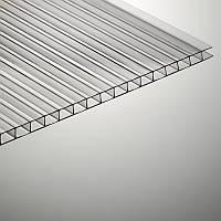 Сотовый поликарбонат Polygal, прозрачный, 4 мм (Россия)