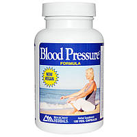 Ridge Crest Herbals, Формула кровяного давления, 120 вегетарианских капсул