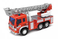 Пожежний інерційний автомобіль із ефектами,12018