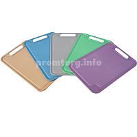 Доска разделочная пластмассовая 19х29см цвет ассорти