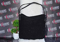 Красивая женская сумка в стразах.