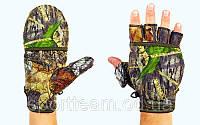 Перчатки флисовые мужские