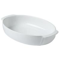 Форма с/к pyrex signature 25x18 см/для запекания/овальн/керам/белый (sg25or1)