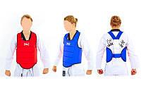 Жилет для единоборств детский для каратэ (защита корпуса) Elast 3951: 2 цвета, размер L (40)