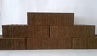 Кирпич облицовочный керамический коричневый тростник ЛИКС (г.Северодонецк)