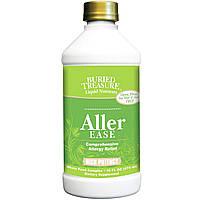 Buried Treasure, Жидкие питательные вещества, Aller Ease (избавление от аллергии), 16 жидких унций (473 мл)