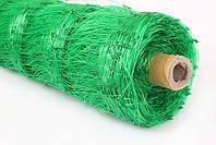 Сетка шпалерная Agreen для горизонтальной поддержки растений 1,7х50 зеленая