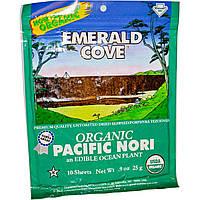 Great Eastern Sun, Emerald Cove, органические тихоокеанские водоросли нори, 10 листов, 0,9 унции (25 г)