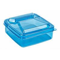 Контейнер для продуктов пластиковый квадратный, 250 мл, TM Bager