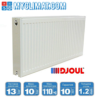 Радиаторы стальные Djoul 22 тип 500x1800 (3474 Bт)