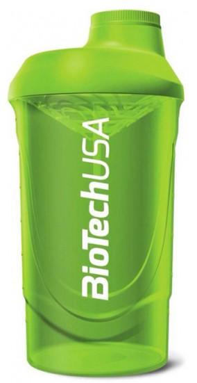 BioTech Шейкер 600 мл зеленый