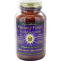 HealthForce Nutritionals, Friendly Force, Пробиотический порошок максимального действия, 80 г