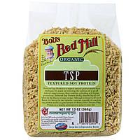 Bob's Red Mill, Органический текстурированный соевый протеин TSP, 13 унций (368 г)