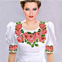 Заготовка женской блузы для вышивки РОЗИ 3