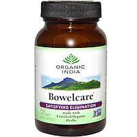 Organic India, Bowelcare, 90 вегетарианских капсул
