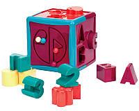 Развивающая игрушка Battat Lite Батат Лайт Сортер Умный куб