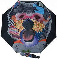 "Интересный женский зонт автомат из коллекции ""Modern.ART"", DOPPLER (ДОППЛЕР) 746157-02 Антиветер!"
