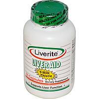 Liverite, Помощь для печени, 60 капсул