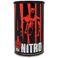Universal Nutrition, Animal Nitro, базовый анаболический пакет незаменимых аминокислот, 44 упаковок