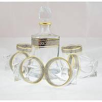 Набор для напитков Bohemia Quadro платина 2k936/99A44/43249/7пр (7 предметов)