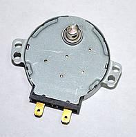 Двигун приводу тарілки для мікрохвильовки 220V (4,2/5RPM,метал. вал 11mm)