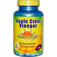 Nature's Life, Яблочный уксус, 250 мг, 250 таблеток