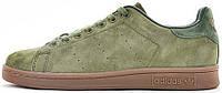 Женские кроссовки Adidas Stan Smith Winterized Olive
