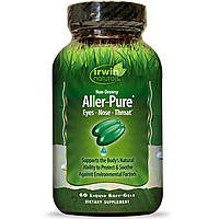Irwin Naturals, Aller-Pure 60 жидких гелевых капсул