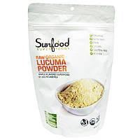 Sunfood, Сырая органическая молотая лукума, 8 унций (227 г)