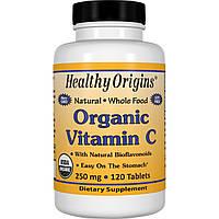 Healthy Origins, Organic Vitamin C, 60 Tabs