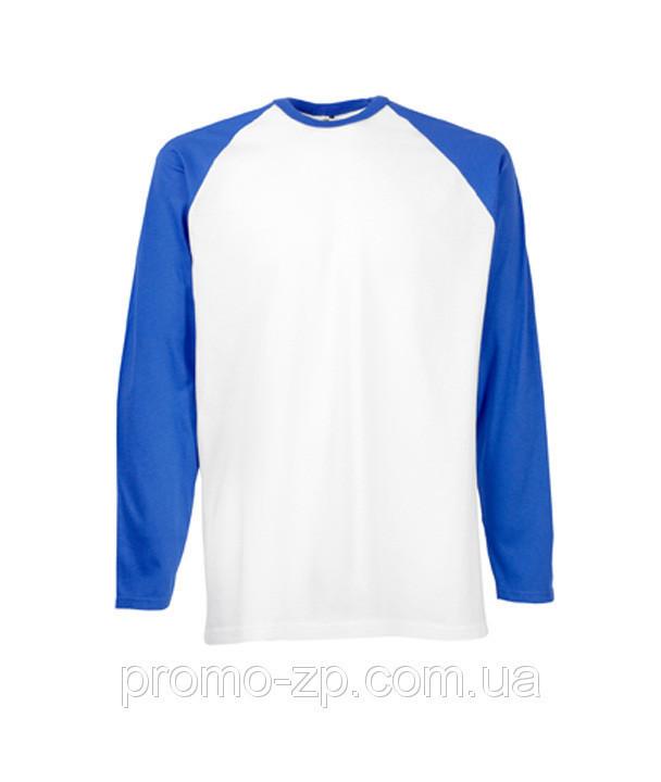Футболка мужская Long Sleeve  Baseball T