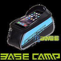Велосипедная сумка на раму для смартфона BaseCamp BC-302